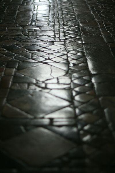 Le pavement du choeur de l'abbaye de Fleury me donne des envies d Italie