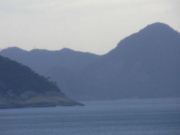 La montagne dans la mer Rio
