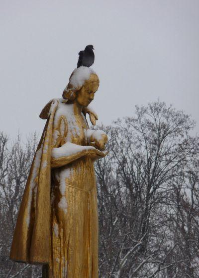 La belle statue