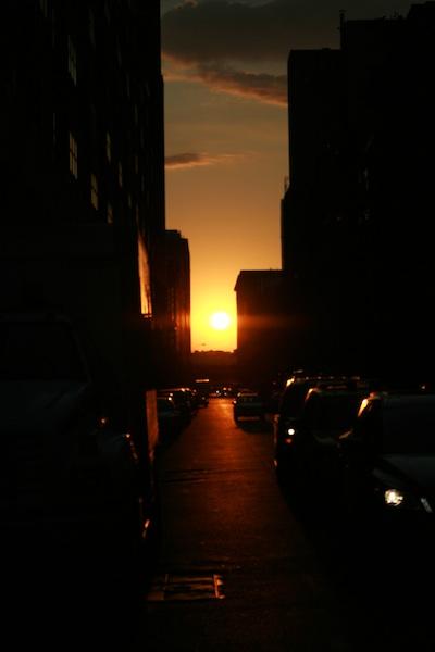 Rouge sunset