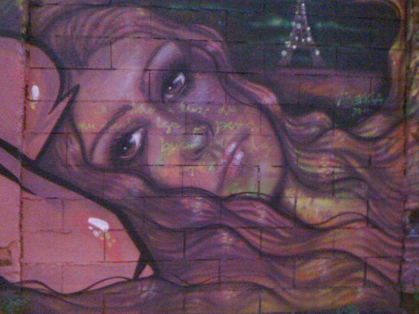 La fille violette