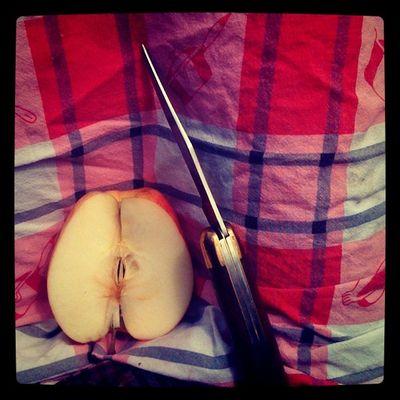 Pomme et torchon