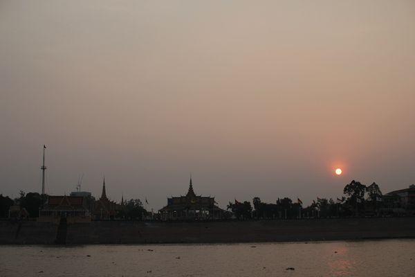Pnom pehn sunset
